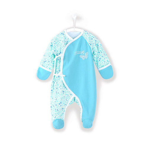 Newborn Baby Girl Clothes 0 3 Month Footies Long-sleeve 2018 New Infant Clothes Baby Girl Boy Jumpsuit Floral 150082