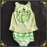 Newborn Baby's Sets 3pcs Summer Casual Cotton Boys Clothes Cartoon Mickey Long Sleeve Bodysuits+Pants+Hat Baby Girls Clothing