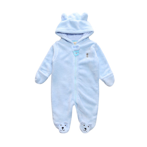 Newborn baby girls boys clothes Babies Footie Long sleeve printing Infant Clothes 0-12 Months