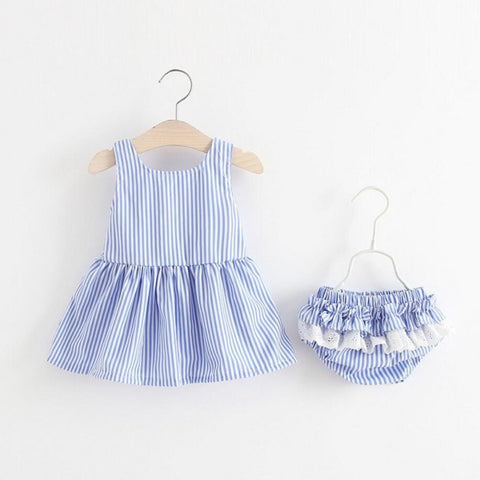Newborn bebe kids baby dress summer 100% cotton beautiful dresses Lace tutu dress for baby's clothing minnie