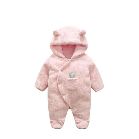 Orangemom official store 2018 baby girl clothing soft Lamb Cashmere fleece baby romper,one-piece baby boy clothes infant newborn