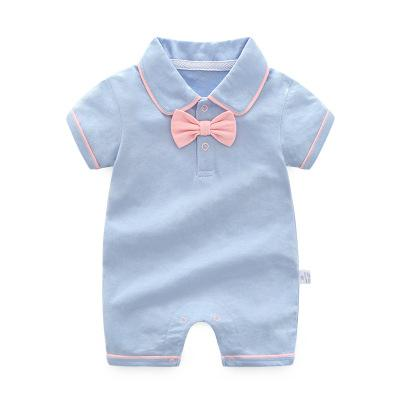 Orangemom official store baby jumpsuit one pieces infant birthday party wedding dresses gentleman Short Sleeves Boy Clothes