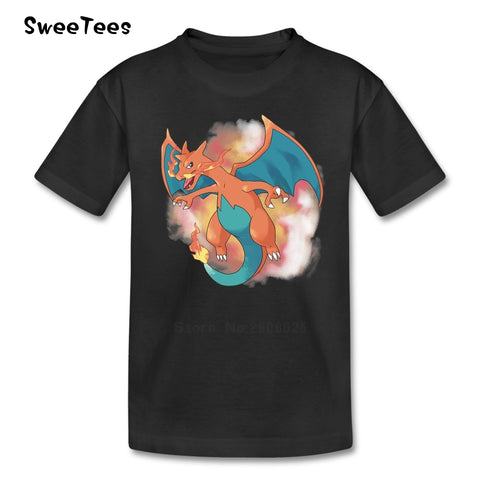 Pokemon T Shirt Baby Pure Cotton Short Sleeve Kid O Neck Toddler Tshirt children's Clothes 2018 On Sale T-shirt For Boys Girls