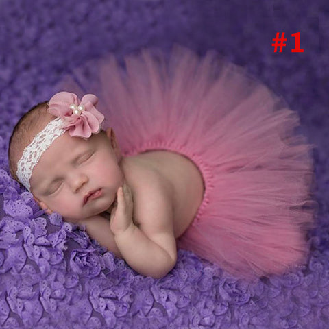Princess Plum Peacock Feather Tutu Skirt with Vintage Headband Newborn Photography Props Baby Tutu Shower Gift TS035