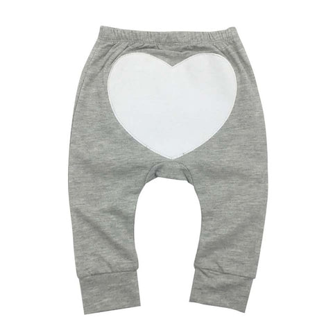 Retail 2018 Fall Winter Newborn Infant Baby Boys Girls Thick Pants Bloomers PP long Pants Bebe Leggings Heart Trousers 0-2Y