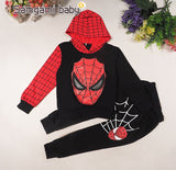 Spider Man Marvel Comic Classic Child Costume Costumes 2 Pieces Together Wearing Sports Clothing Jacket + Pants Set