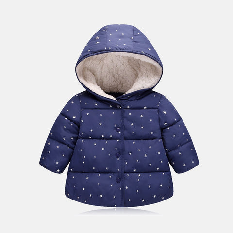 Snowsuit Baby Coats For Girls Cheap Warm Winter Outerwe Kids Jacket Casual Boys Kids Windbreaker Hooded Children Clothing 0-5T