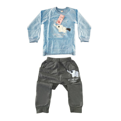 Sports Playsuit boy girl autumn childrens sweatshirts clothing toddler sportswear Underwear Long-sleeved T-shirt Trousers