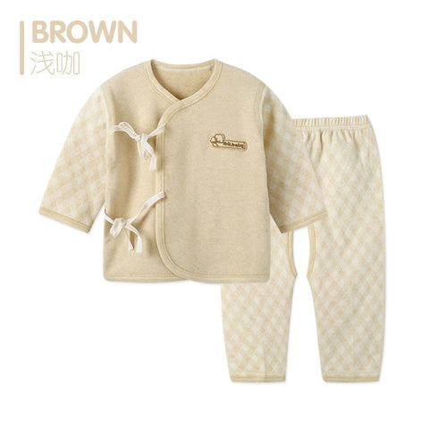Spring Baby Clothing Set Newborn Boy Clothes Baby Boy Girl Clothes Long Sleeve Baby Pants Set For Newborns Unisex Pajamas Set