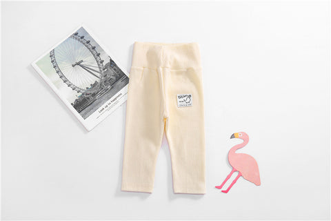 Toddler Baby Girls Kids Skinny Pants Cute Bird Print Warm Leggings Newborn Boys Casual Long Trousers Autumn Soft Cotton Pant New