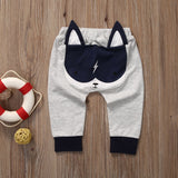 Toddler Baby Kids Boy Girl Clothing Harem Pants Boys Girls Cartoon Bottoms Pants Leggings Trousers 0-2T