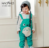 Totoro Fox Baby Pants Boys Girls Casual Harem Pants Baby Girl Clothes Newborn Infant Loose Trousers Overalls Cute Cartoon Pants