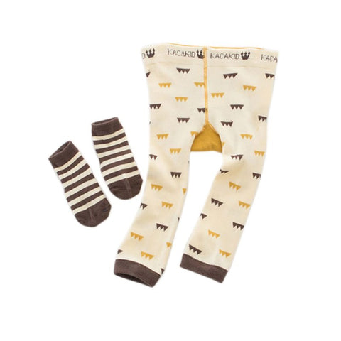 Unisex Cartoon Bee Monkey Rabbit Tights Baby Girl Boy Cotton Stocking Children Pantyhose Slim Pants K5