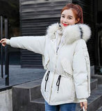 Warm Teenager Girls Winter Jacket 2018 New Children Co Thick Big Fur Hooded Down Cotton Padded Kids Parka