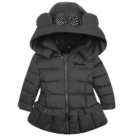 Warm Thick Girls Winter Co Quality Children's Parkas Winter Jackets and Coats For Girls Clothing Children's feather suits