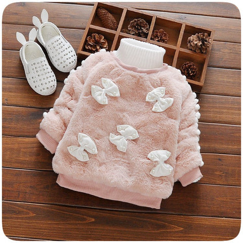 Winter Newborn Baby Girl Clothes Korean Casual Bunnies Kids Hooded Fashion Baby Sweatshirts Infantil Autumn Clothing Newborn
