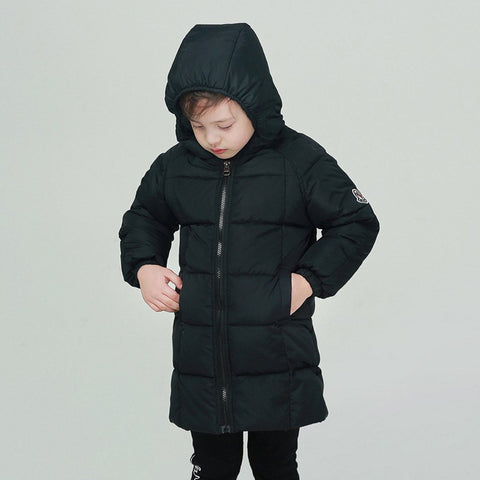 Winter White Duck Down Jacket For Boy 18 M- 8 Years Fashion Kids Clothes Autumn Long Co Children Army Green Outerwe For Boys