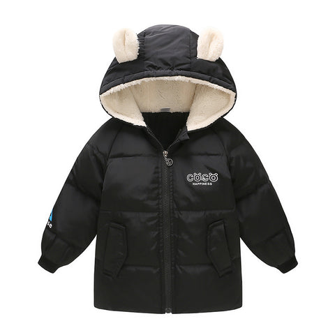 Winter White Duck Down Jacket For Boy 2-7 Years Autumn Green Co Children Pink Fleece Jacket Jacket For Girls Nice Kids Clothes