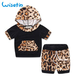 Toddler Newborn Baby boy Clothing Set Summer Infant Girls Outfits Cute Baby Girl Clothes Set Flower Hoodie Tops +Shorts