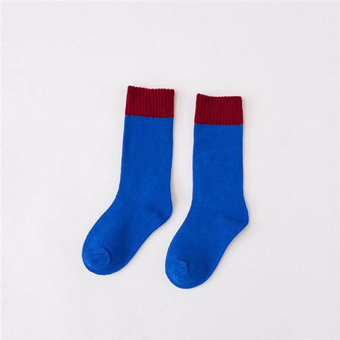 children socks Boy Girl cotton fashion Knee high Sports socks baby toddler Keep warm socks new ye kids clothing cheap stuff CN