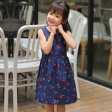 little girls summer dresses cotton floral dress 2018 baby girl dress clothes kids dresses for girls 2 3 4 5 6 7 8 9 10 years