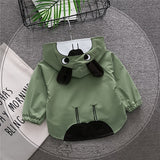 spring autumn baby boy girl clothing 2018 new fashion baby Sweatshirt outerwear   children clothing baby boy girl clothes
