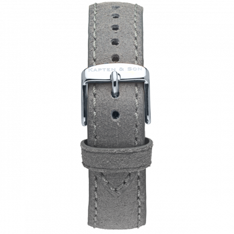 Leather Strap Grey Vintage Leather