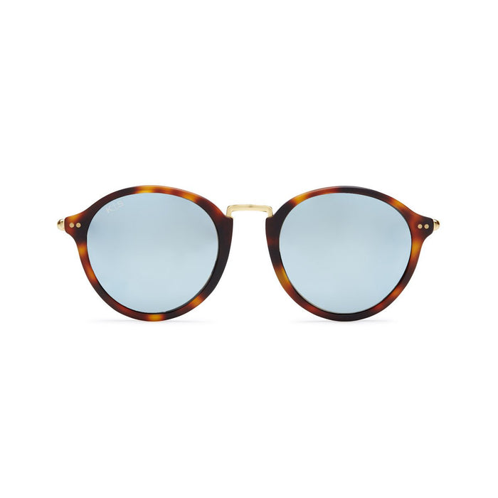 Maui Matt Tortoise Blue Mirrored