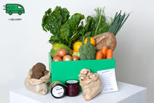 Load image into Gallery viewer, Friday Veggie Box with eggs - Delivered