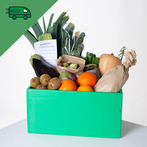Wednesday Veg Box with Eggs - Delivered