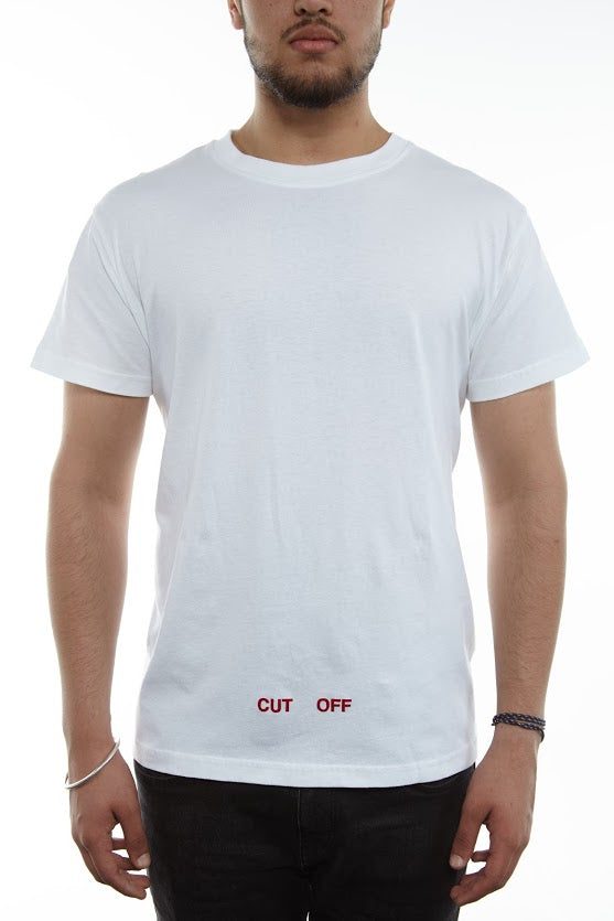 Off-white Silver Off T-shirt S/s Mens Style : Omaa002f161850520188