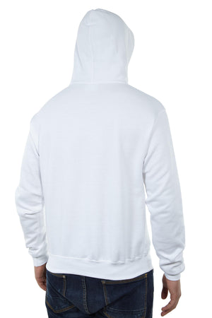 Talk Money Champion 50/50 Ecosmart Pullover Hood Mens Style : S700-WHITE/BLACK