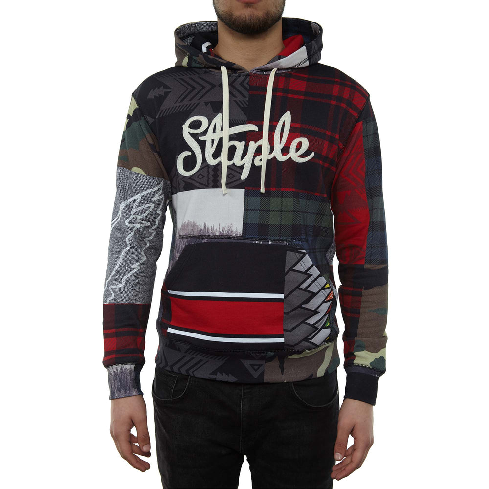 Staple Outdoor Hoodie Mens Style : 1811h5101-BLACK