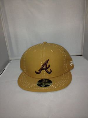 Atlanta Braves New Era Fitted Brown 11