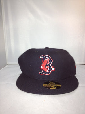Boston Red Sox New Era Fitted Black/Red/White 201HAT 201