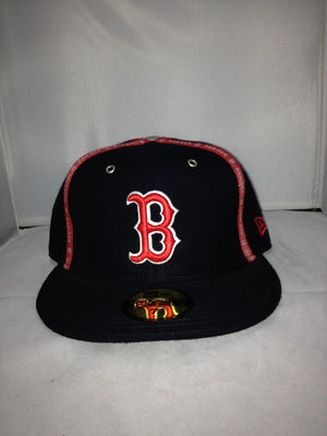 BOSTON RED SOX NEW ERA FITTED NAVY/RED 313