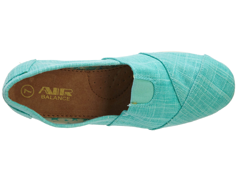 AIR BALANCE MEGA CONVAS SLIPONS WOMEN SHOES STYLE# ABW2117MNT-W6511