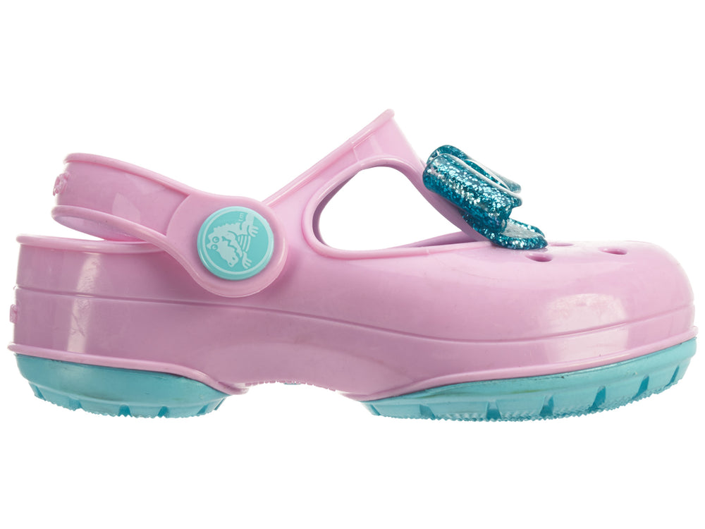 Crocs Carlie Gltter Bow Mj Ps Toddlers Style : 203452