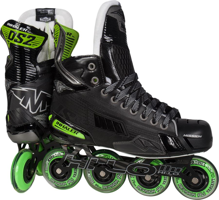 Bauer Hockey Mission Inhaler Ds2 Inline Skates  Unisex Style : 1044702
