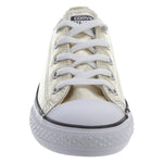 Converse Chuck Tailor All Star Ox Little Kids Style : 353181f-LIGHT GOLD/WHITE