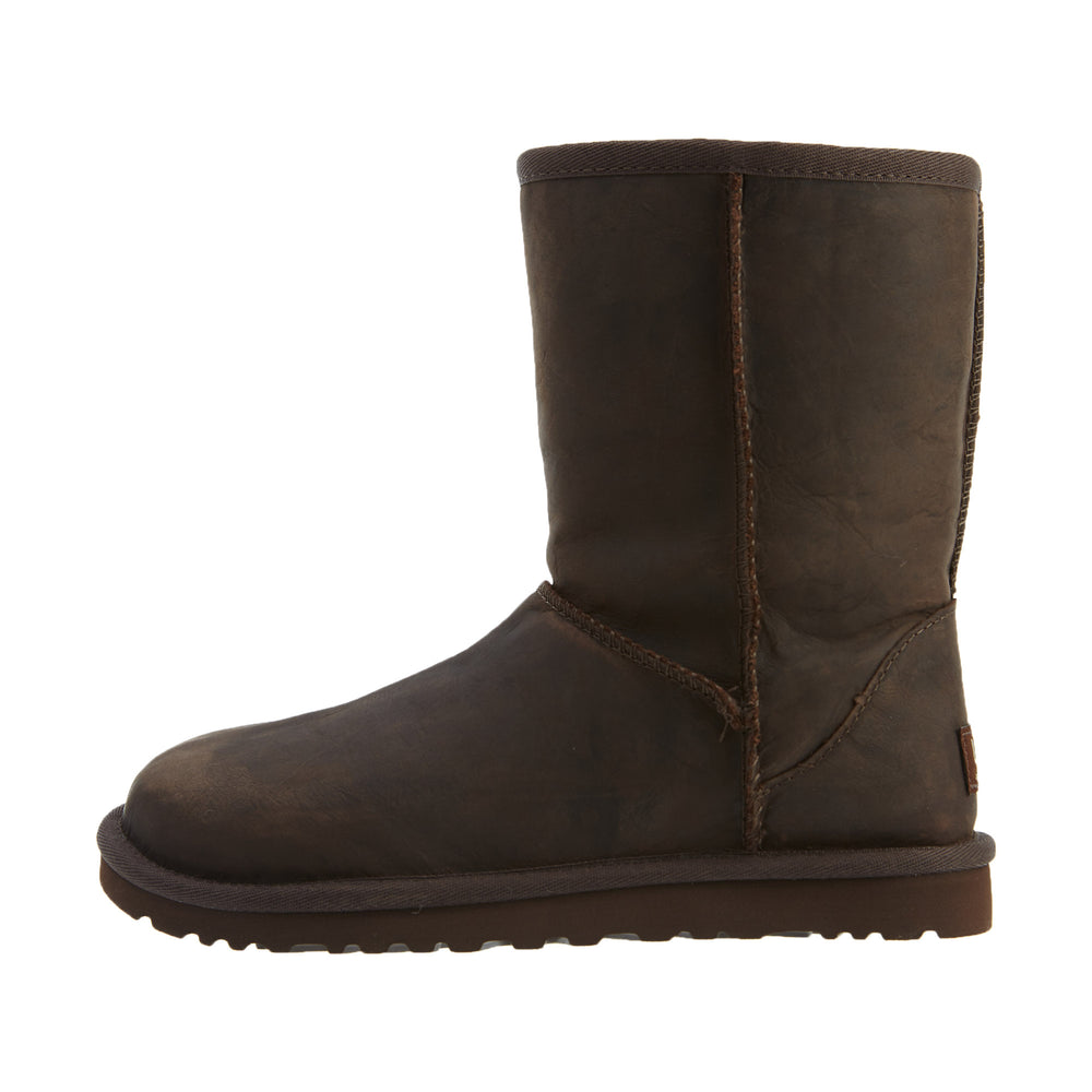 Ugg Classic Short Leather Boots Womens Style : 1005093