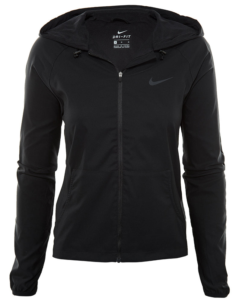 Nike Full Zip Training Hoodie Womens Style : 803074