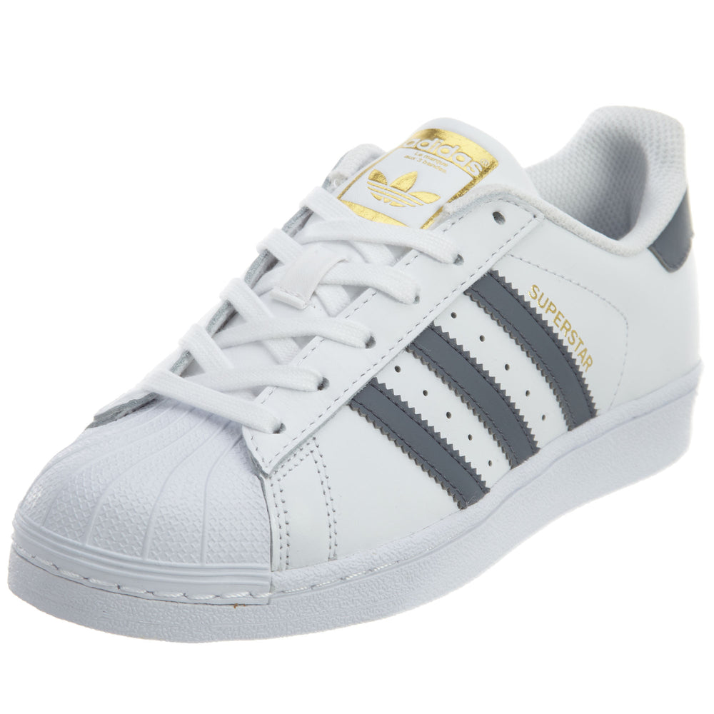 Adidas Superstar Foundation Big Kids Style : S81016