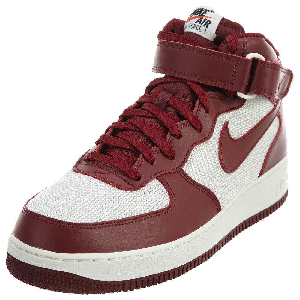 Nike Air Force 1 Mid 07 Team Red/Summit White