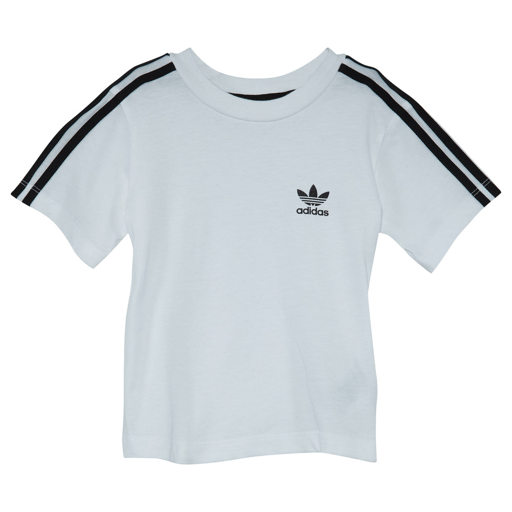 Adidas Infants 3-stripes Trefoil Tee Toddlers Style : Bq4055