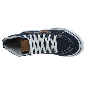 Vans Sk8‑hi Zip (Denim  C&l) Shoe  Little Kids Style : Vn0a3276