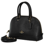Coach Crsgr Mini Sierra Satchel Leather Handbag  Womens Style : F57555