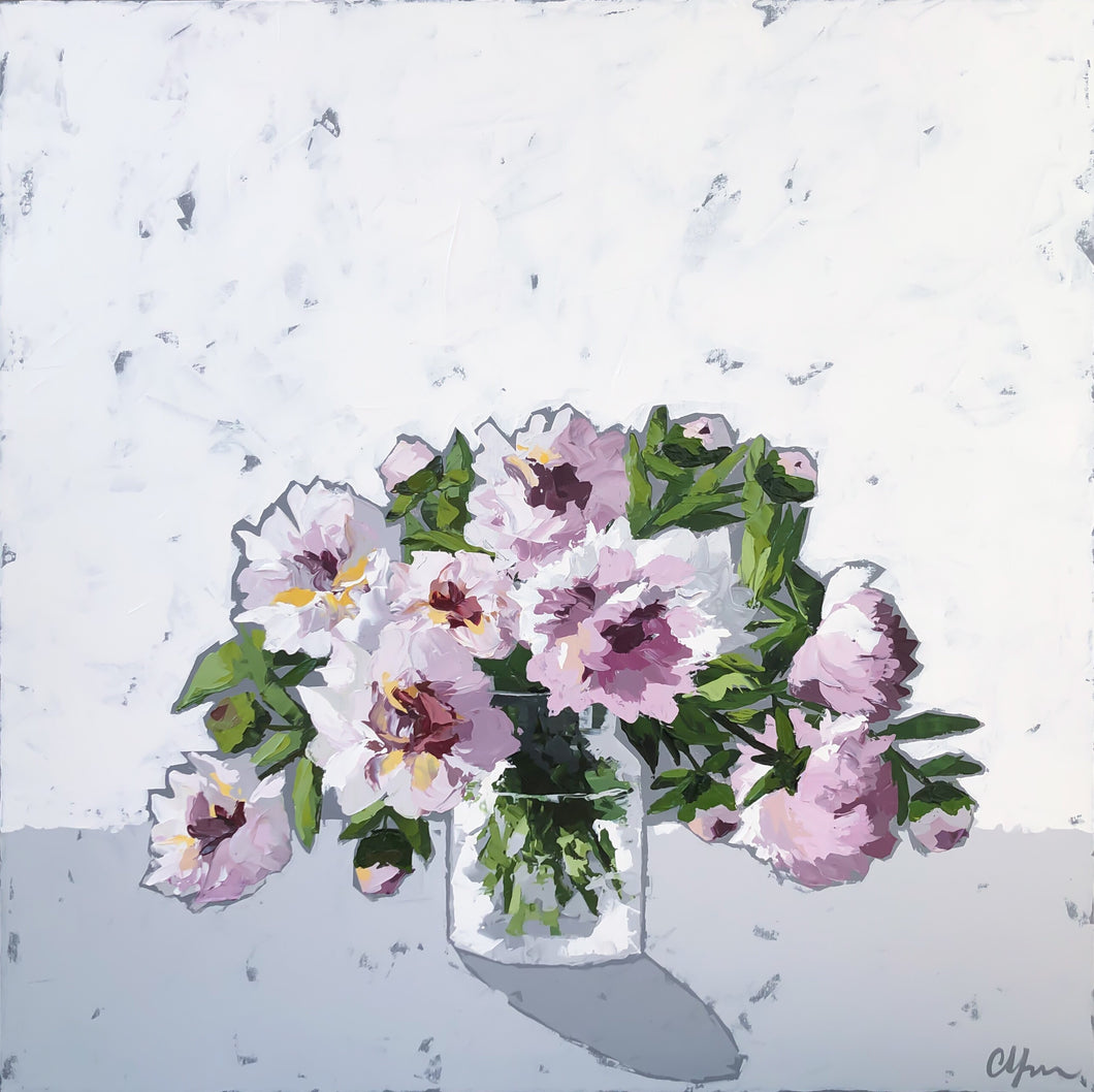 "SOLD - ""Peonies no. 2"""