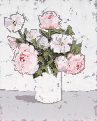 """Peonies in White III"""