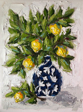"Load image into Gallery viewer, ""Lemons in Chinoiserie"" - Young Commission"